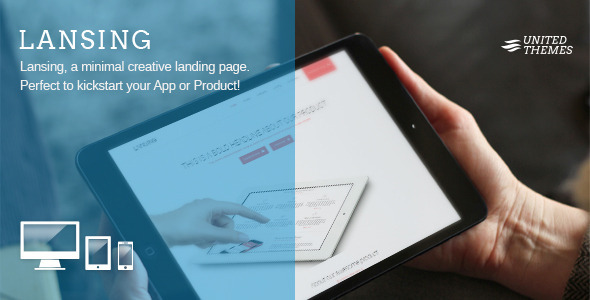ThemeForest Lansing App and Landing Page 5683041