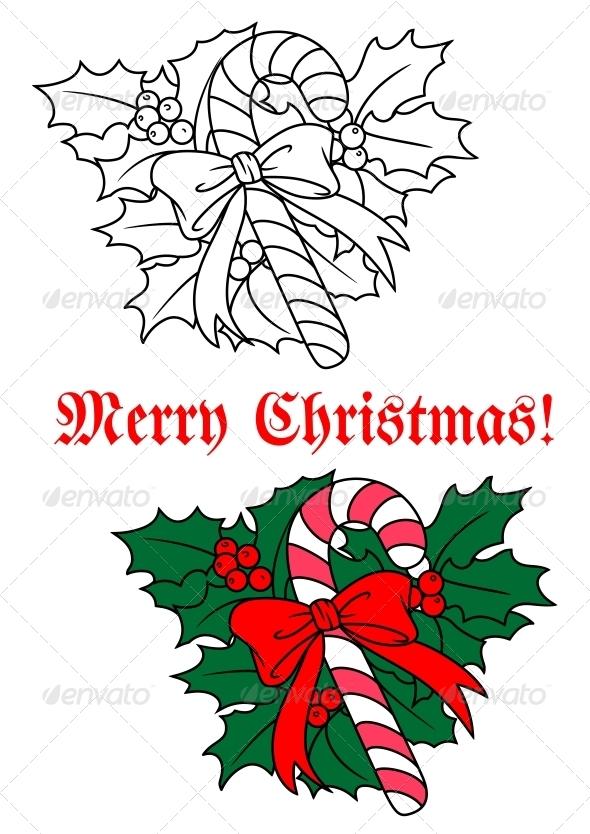 GraphicRiver Christmas Candy Stick 5683066