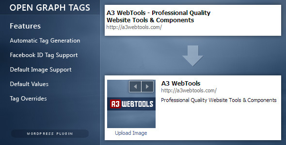 CodeCanyon Open Graph Tags for WordPress 5650305