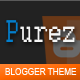 Purez - Responsive Blogger Template - ThemeForest Item for Sale