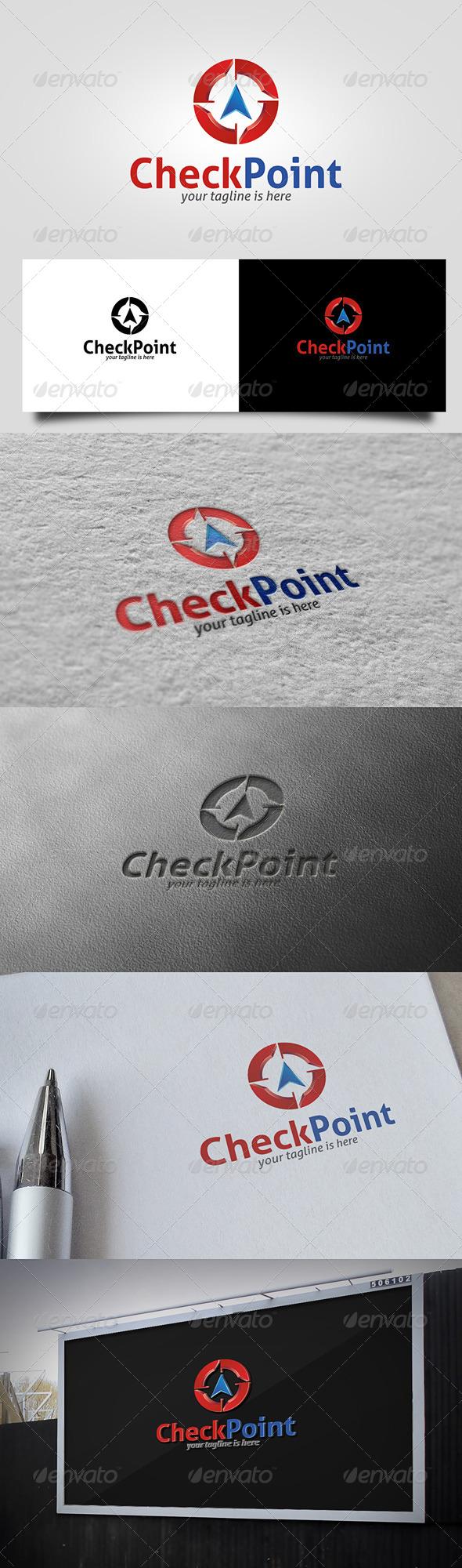 GraphicRiver Checkpoint Logo 5683443