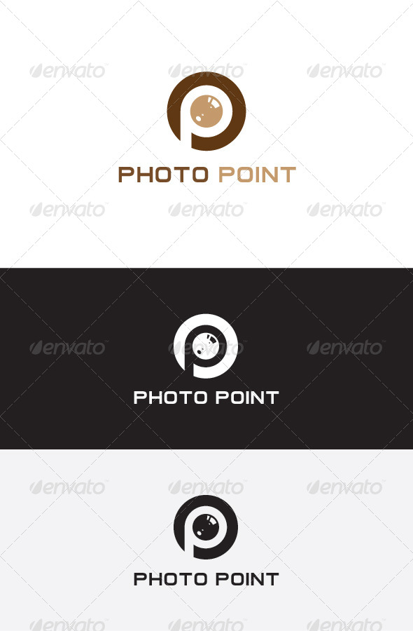 GraphicRiver Photo Point Logo Design 5683531