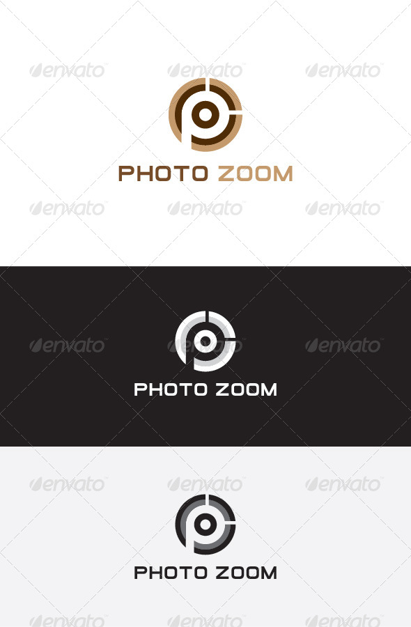 GraphicRiver P Letter Logo Design 5683548