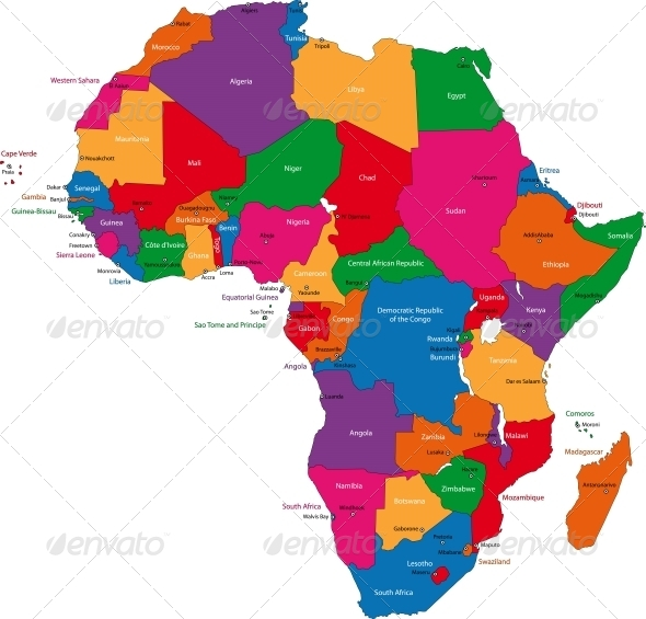 GraphicRiver Africa Map 5683782