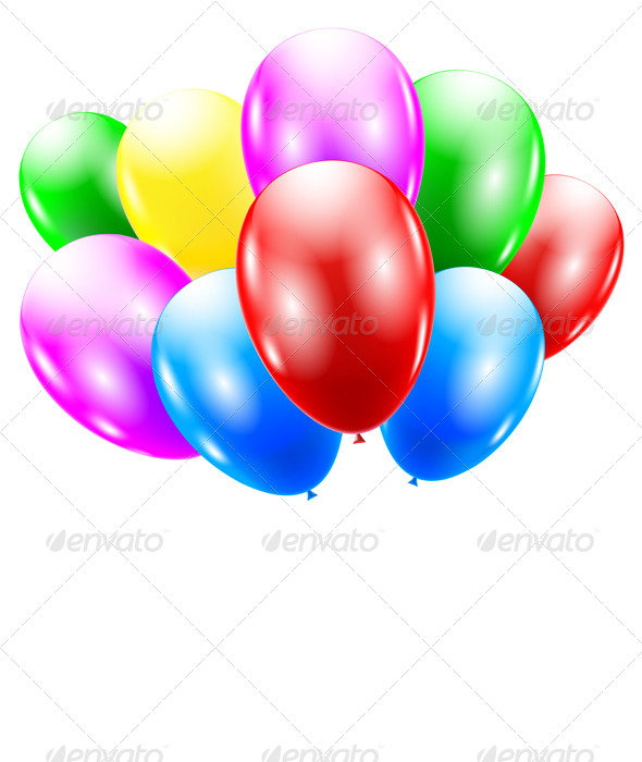 GraphicRiver Balloons 5683888