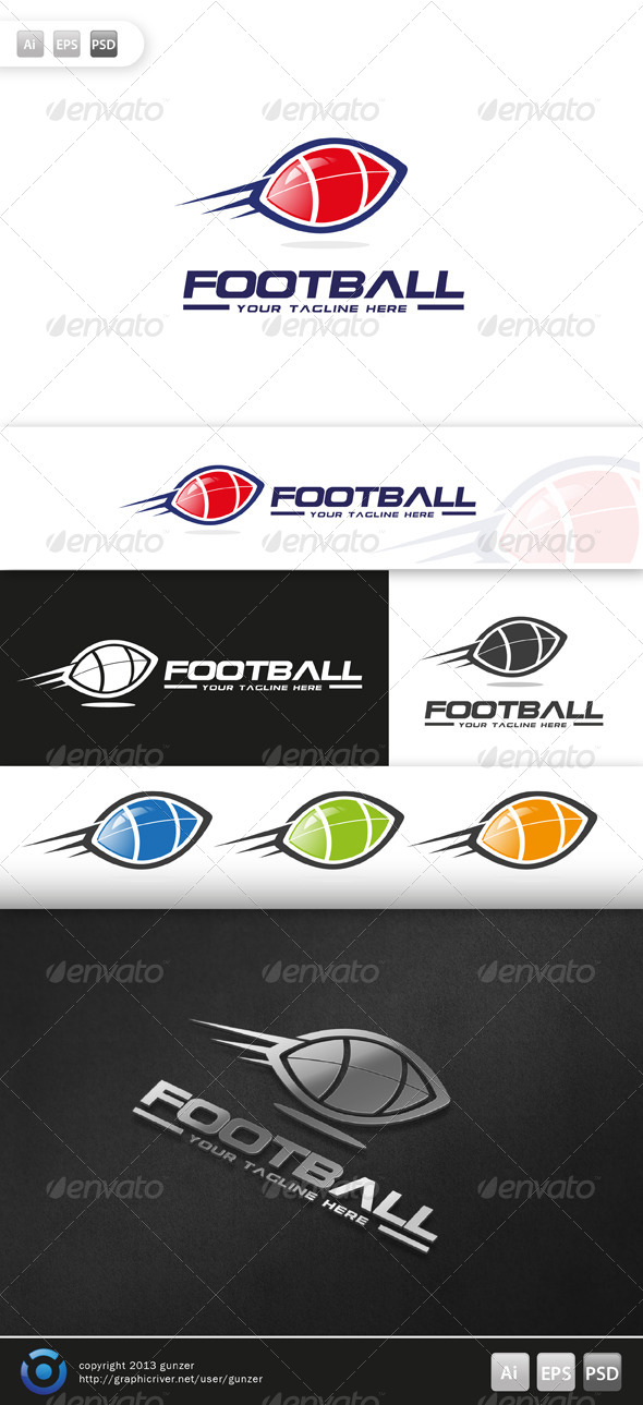 GraphicRiver Football Logo 5684583
