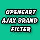 opencart ajax brand filter