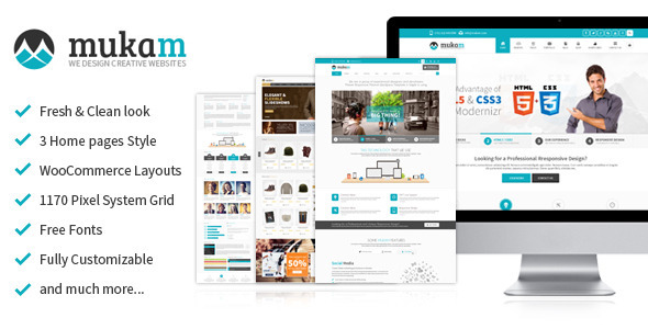 ThemeForest Mukam 5684593