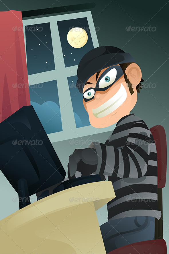GraphicRiver Computer Criminal 5684665