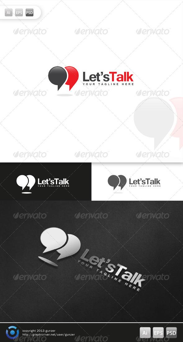 GraphicRiver Lets Talk Logo 5684869