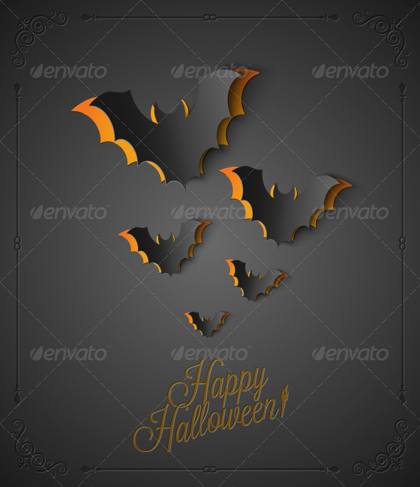 GraphicRiver Halloween Background 5685384