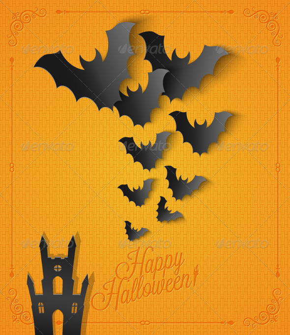GraphicRiver Halloween Background 5685387