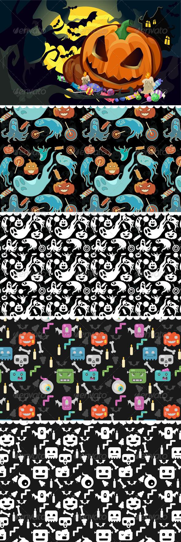 GraphicRiver Halloween 5685416