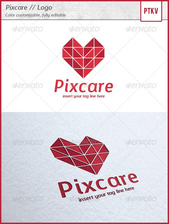 GraphicRiver Pixcare Logo 5684489