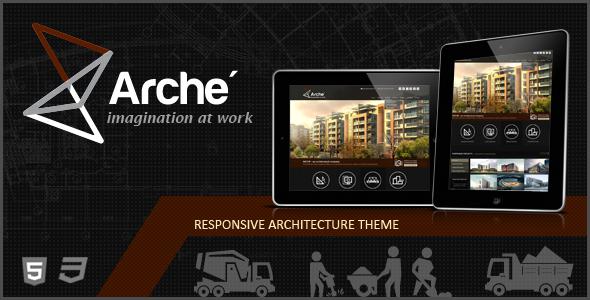 ThemeForest Arche Architecture Creative Template 5337063