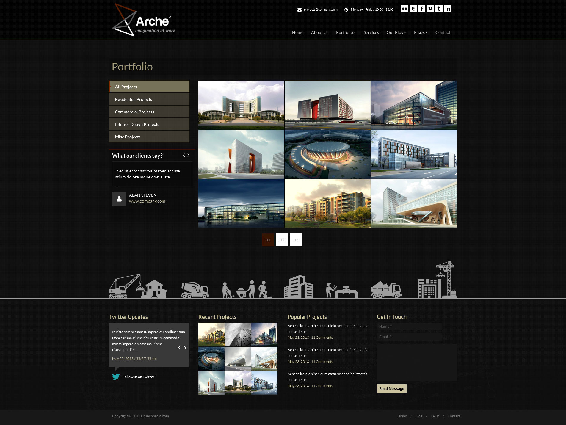 Arche - Architecture Creative Template
