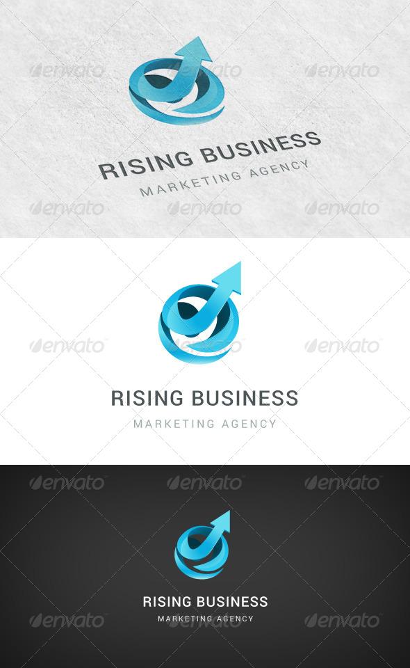GraphicRiver Rising Business Logo 5680703