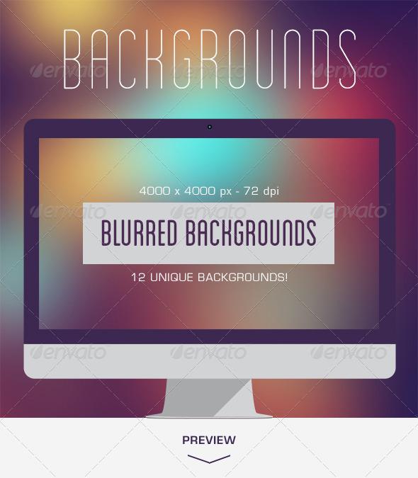 GraphicRiver 12 Blurred Backgrounds V.03 5686571