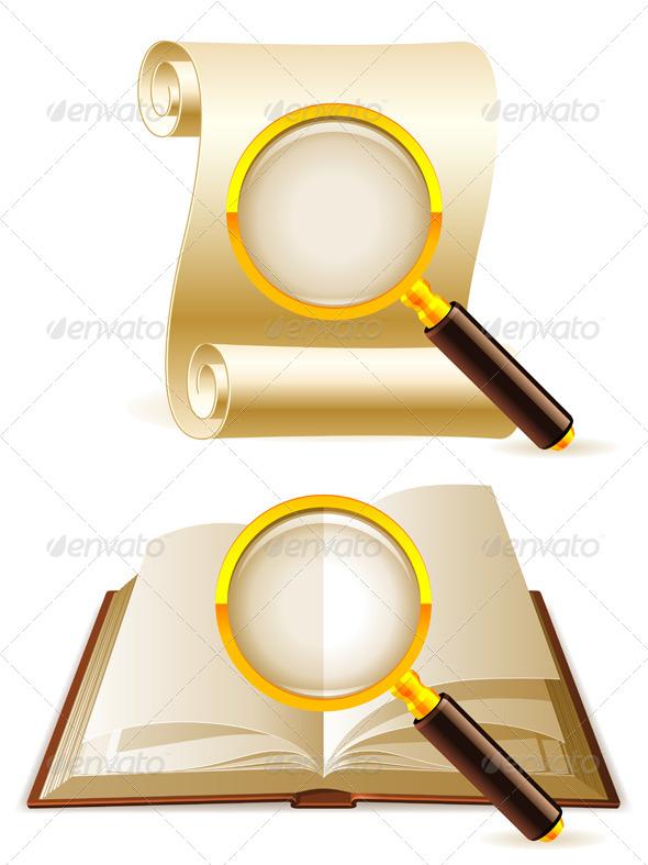 Search Icons - Retro Technology