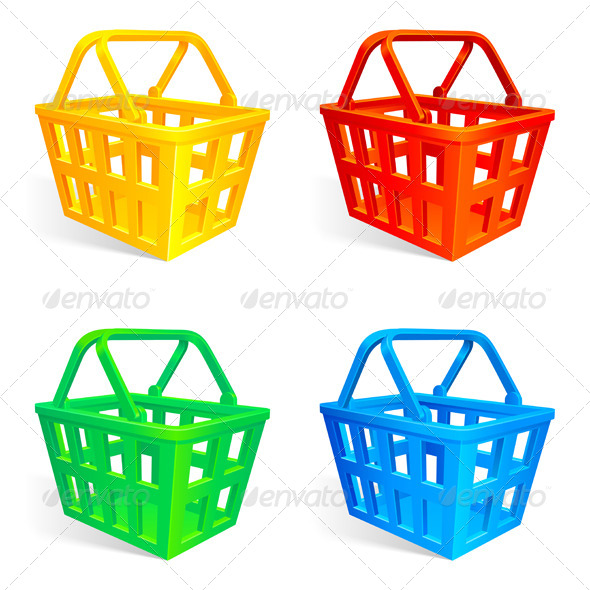 Shopping Baskets - Commercial / Shopping Conceptual