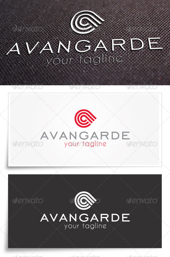 GraphicRiver Avangarde Logo Template 5686958