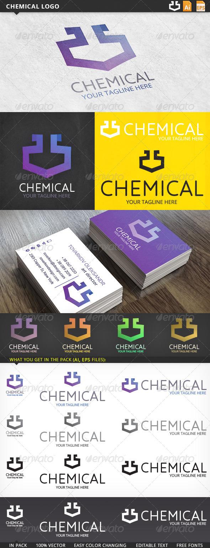 GraphicRiver Chemical Logo 5687354