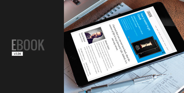 Ebook - Responsive Html5/Css3 Landing Page
