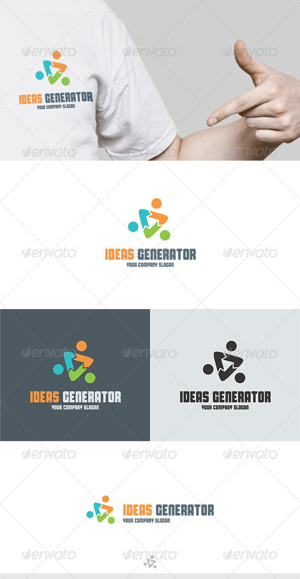 GraphicRiver Ideas Generator Logo 5687571