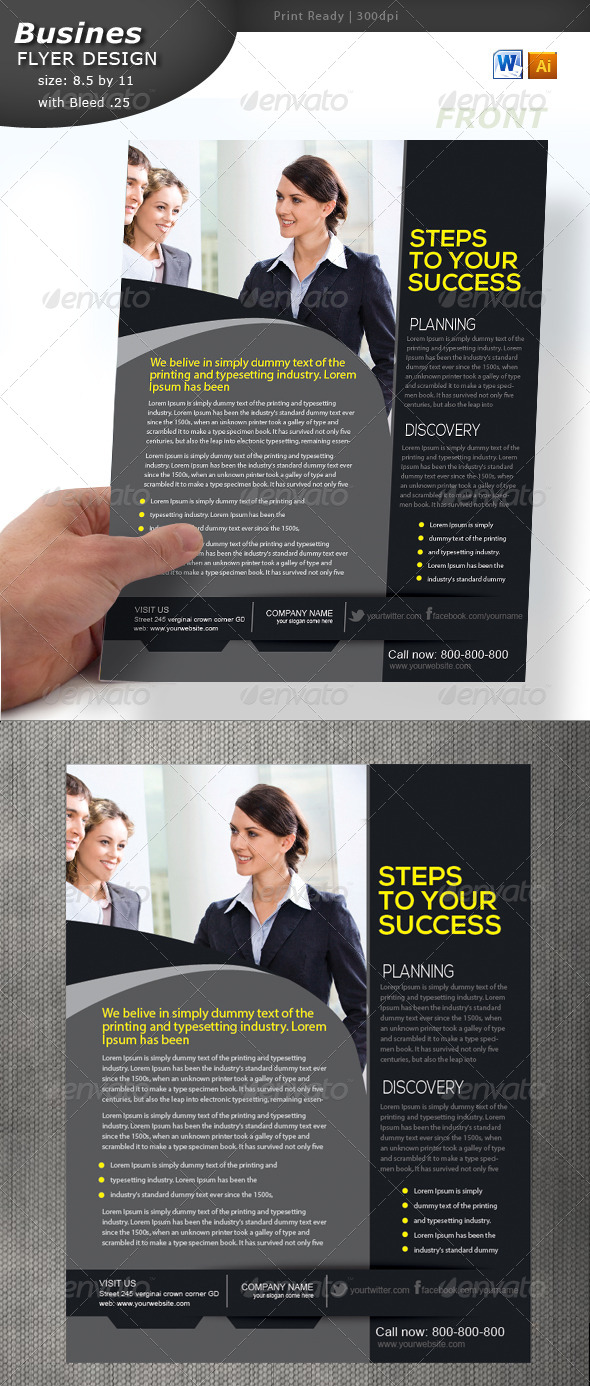 GraphicRiver Business Flyer 4359502