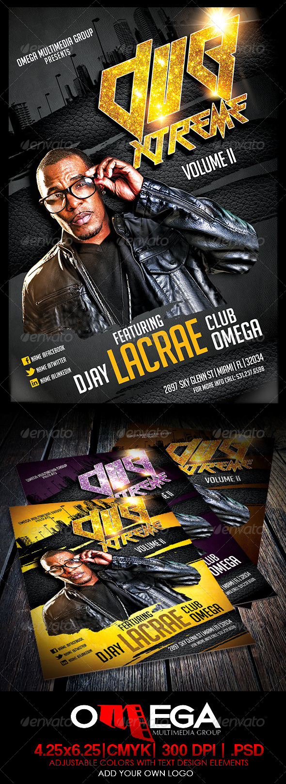 Dub Xtreme - Events Flyers