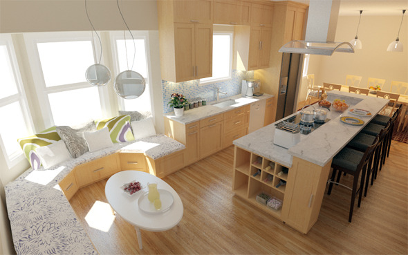 3DOcean Interior Kitchen 5687752