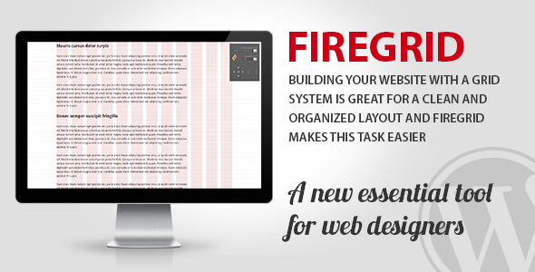 CodeCanyon FireGrid for WordPress Tool for web designers 5687797