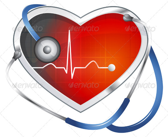GraphicRiver Heart ECG 5688023