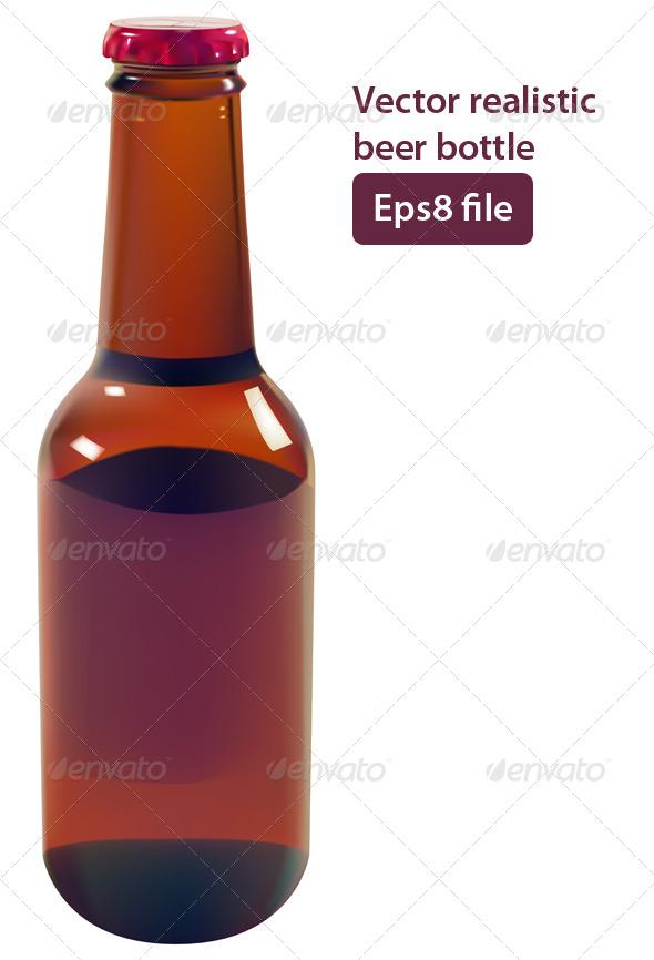 GraphicRiver Beer Bottle 5688307