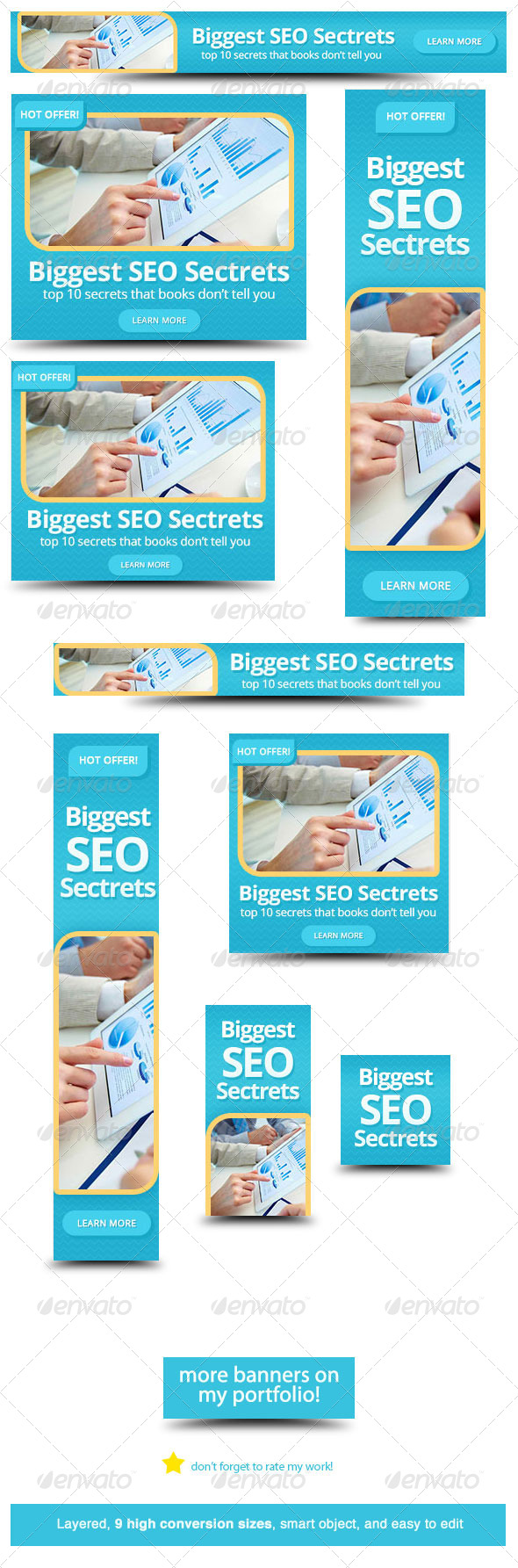 GraphicRiver SEO Web Banner Design 5688321