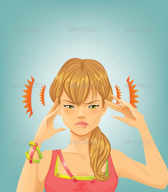 GraphicRiver Headache 5688684