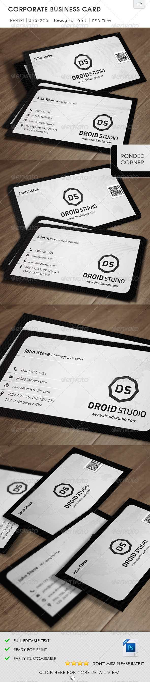 GraphicRiver Corporate Business Card v12 5602900