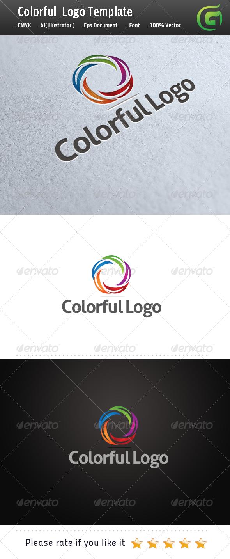 GraphicRiver Colorful Logo 5689349