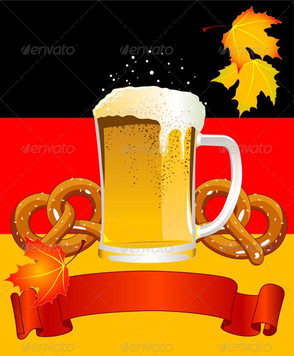 GraphicRiver Oktoberfest Celebration Background 5689355
