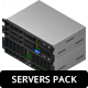 Isometric Servers - GraphicRiver Item for Sale