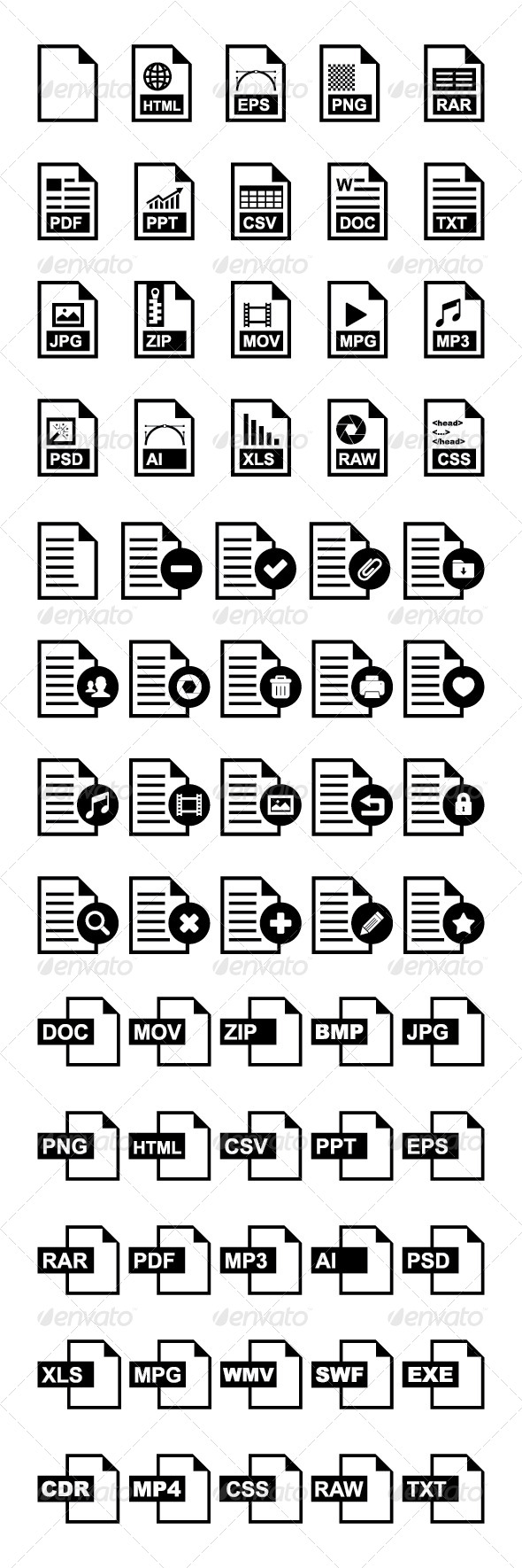 GraphicRiver File and Document Icon 5690280
