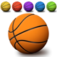 Realistic Basketball Graphic - GraphicRiver Item for Sale