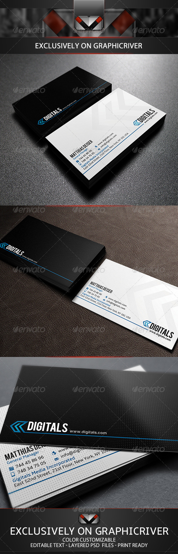 GraphicRiver Clean Business Card 5690602