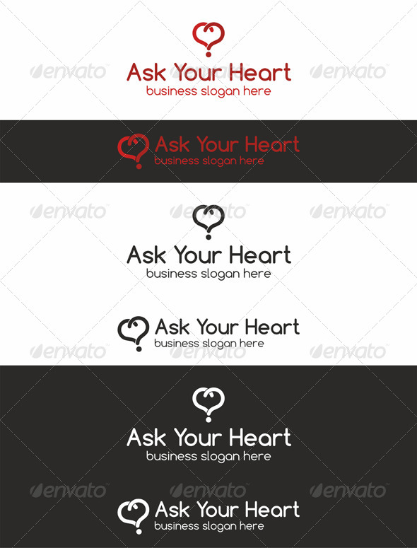 Ask Your Heart \ Love Quiz Logo