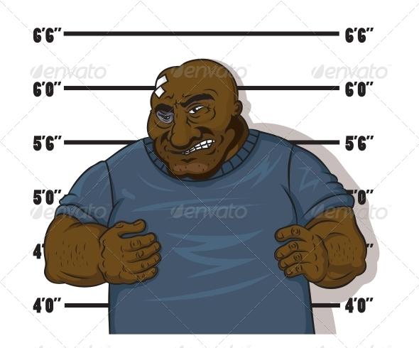 GraphicRiver Afro-American Prisoner 5690831