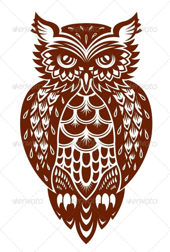 GraphicRiver Brown Owl 5690884