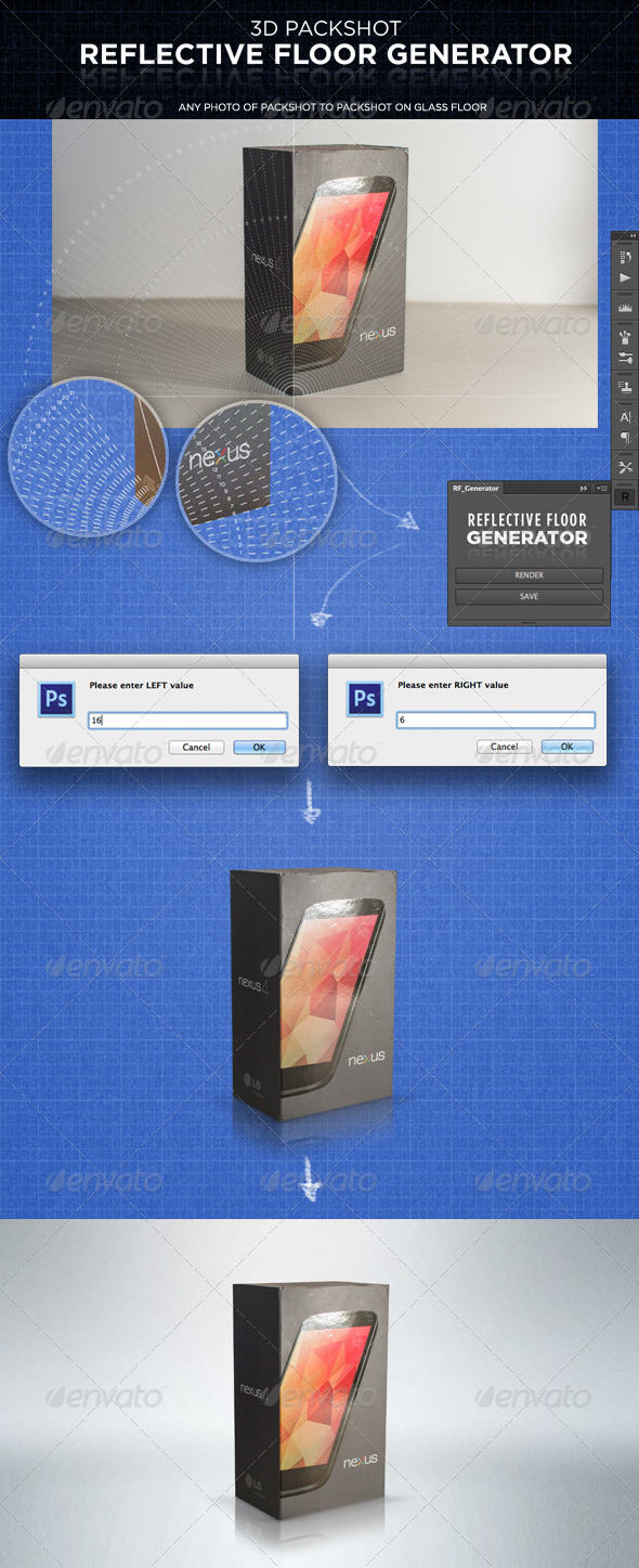 GraphicRiver Reflective Floor Generator 5690984
