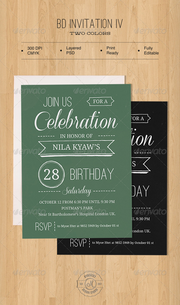 GraphicRiver BD Invitation IV 5691794