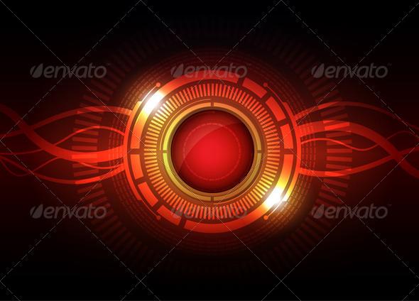 GraphicRiver Power Tech Button 5691858