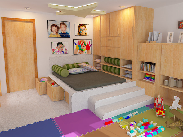 3DOcean Interior Child room 5691929